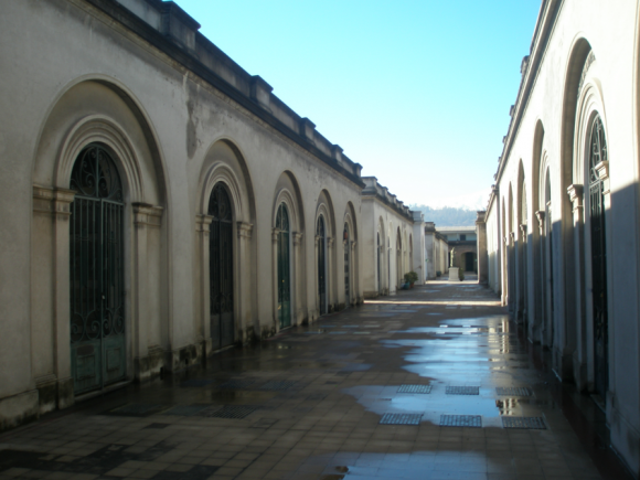 Cementerio Católico de Santiago. © Consejo de Monumentos Nacionales