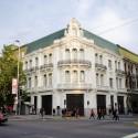 Palacio Iñiguez, en la Alameda, Santiago. Cortesía Espacios Revelados.