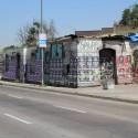 Estación Yungay en calle Matucana. Barrio Yungay. Cortesía Espacios Revelados.