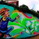Mural de Fusa Eter en Valdívia