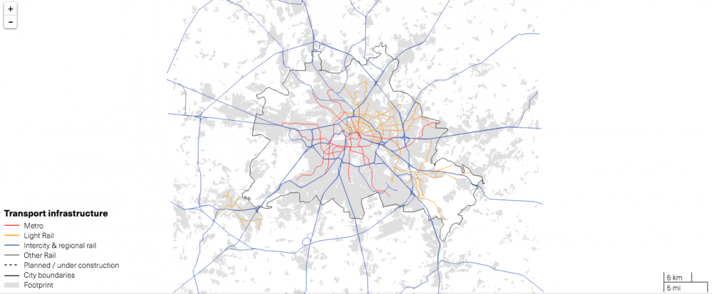 Berlín, Alemania. © LSE Cities