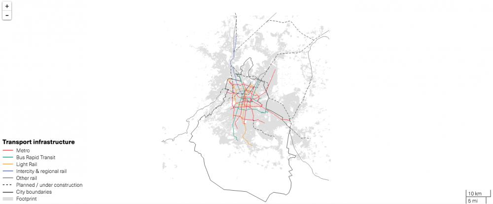 Ciudad de México. © LSE Cities