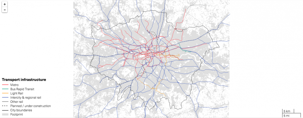 Londres, Reino Unido. © LSE Cities