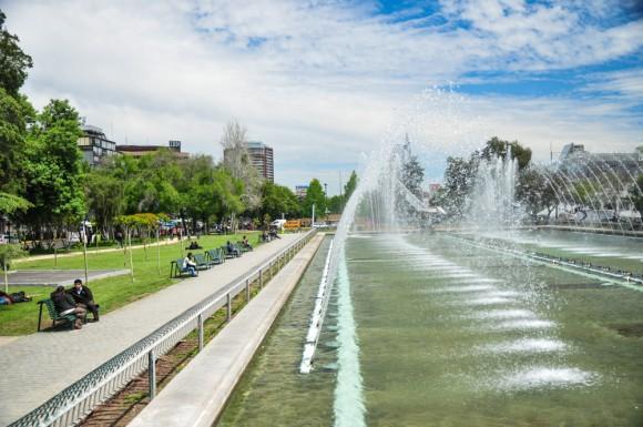 Parque Balmaceda, Providencia. © Plataforma Urbana