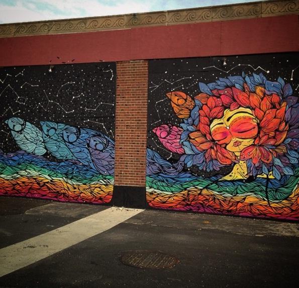 Mural de Pau Quintana en Lima, Perú