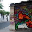 Mural de Pium en Calle Libertad, Santiago