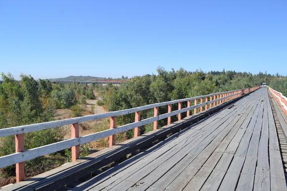 Puente Confluencia, Región del Biobío. © Consejo de Monumentos NAacionales