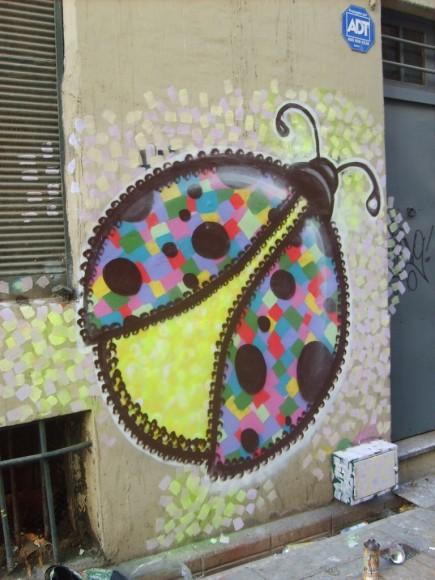 Mural en Valparaíso. Cortesía de Wendy.