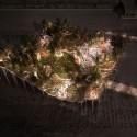Night view.. Image © Pier55, Inc. and Heatherwick Studio, Renders by Luxigon