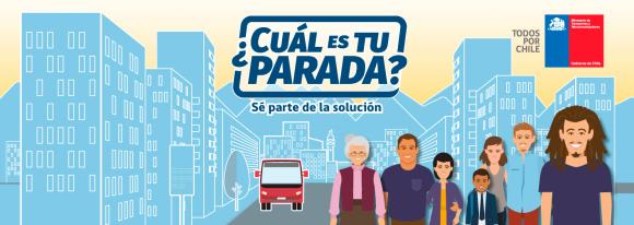 afiche consulta ciudadana cual es tu parada mtt