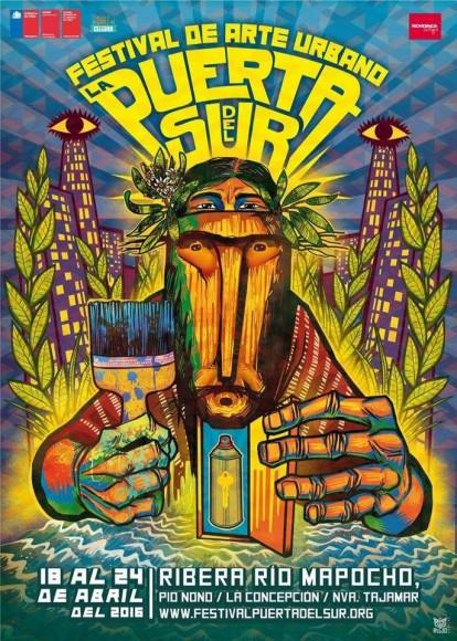 afiche festival la puerta del sur