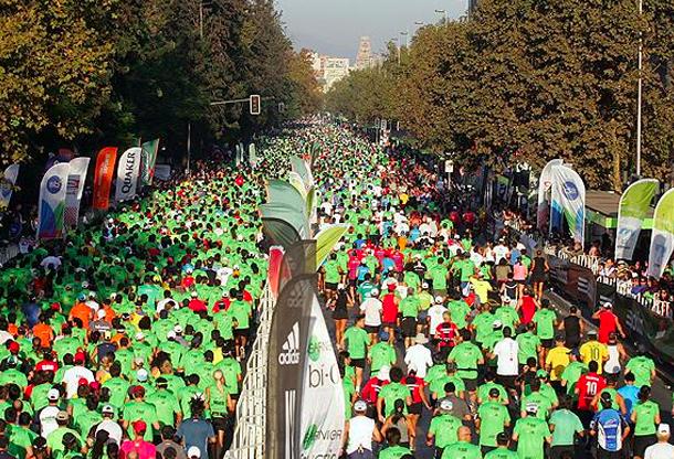maraton de santiago 2015