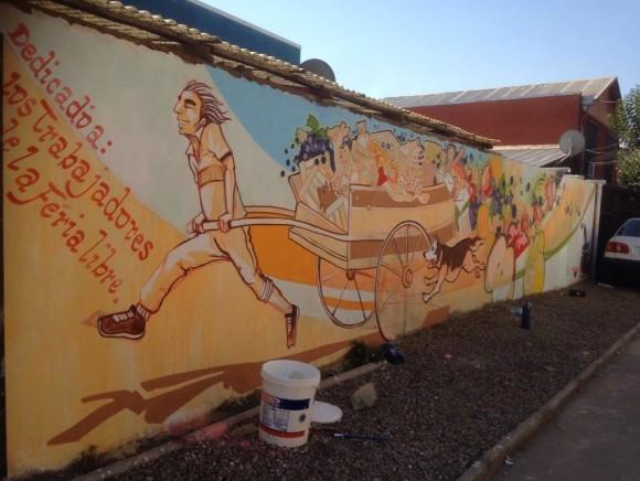 "Mural ""La Feria""."
