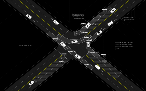"""Light Traffic"". © Senseable City Lab, MIT"