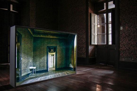 Locación: Casa Libertad. Artista: Cristóbal Palma. Obra: Punto de vista © Angelina Dotes