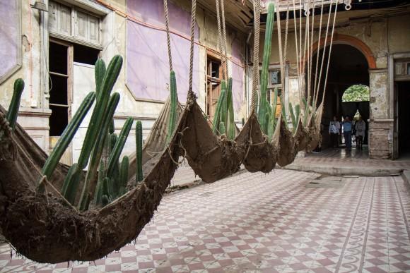 Locación: Casa Sauma. Artista: Daniel Lie. © Angelina Dotes