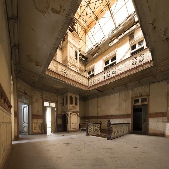 Locación: Palacio Iníguez Interior. © Benjamin Matte