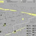 Mapa de intervenciones de Espacios Revelados