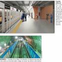 metro de santiago puertas estaciones lineas 3 y 6