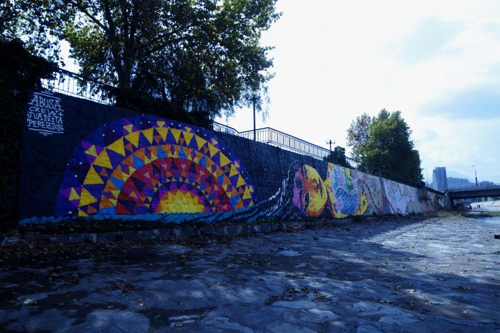 Mural de Abusa Crew y Juanita Pérez. ©Plataforma Urbana