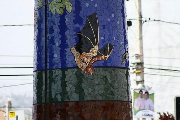 Mural de Mosaicos Puente Alto. Cortesía Valeria Merino
