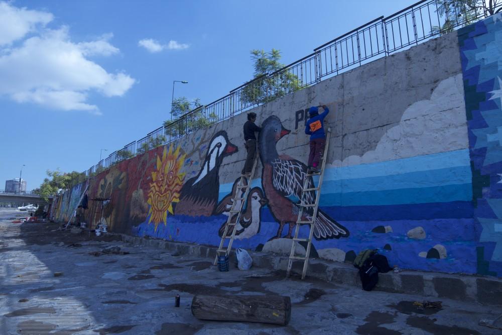 Mural de la Brigada Negotrópica ©Plataforma Urbana