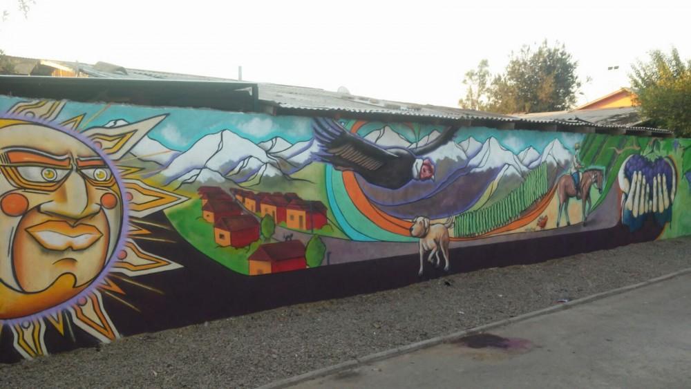 "Mural ""Paisajes Parralinos""."