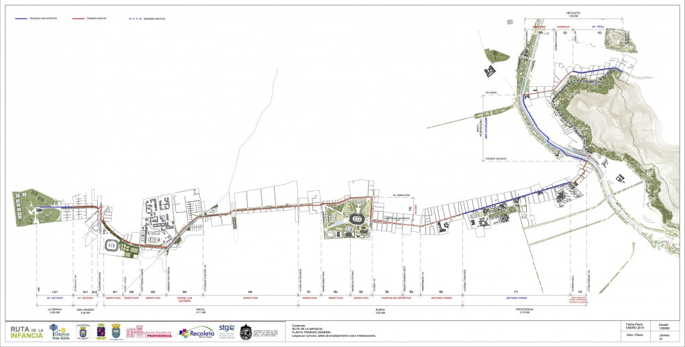 La Granja | Noticias - debates -proyectos - Página 3 Plano-trazado-ruta-de-la-infancia-gore-santiago-1000x507
