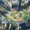 Plaza de Italia. © Sophie Robichon. Fuente: Ayuntamiento de París.