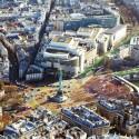 Plaza de la Bastilla. © Sophie Robichon. Fuente: Ayuntamiento de París.