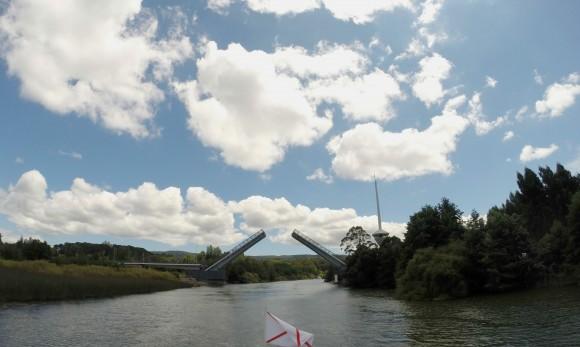 Puente Cau Cau, Valdivia. Foto: © Plataforma Urbana (tomada en marzo de 2016).