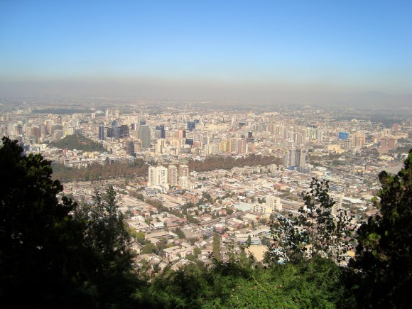 Santiago de Chile. © Rajesh_India, vía Flickr.