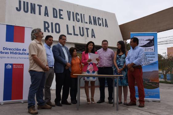 proyecto embalse en valle lluta arica