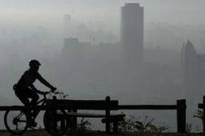 bicicleta dias contaminacion