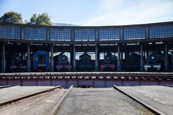 Casa de Máquinas del Museo Nacional Ferroviario Pablo Neruda. © Plataforma Urbana