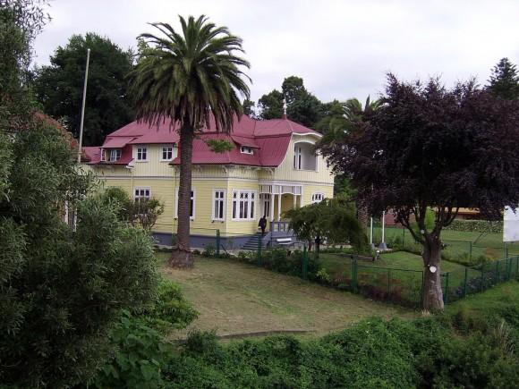 Casa Prochelle , Valdivia. © Flickr Usuario: Lin Linao. Licencia CC BY-SA 2.0