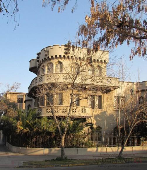 Castillo Los Jesuitas. Cortesía Brugmann Restauradores
