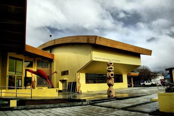 Centro Cultural de Coyhaique. Fuente imagen: Red Cultura.
