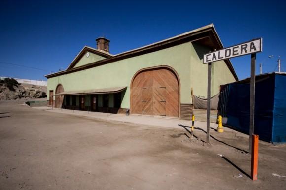 Centro Cultural Estación Caldera. © Plataforma Urbana