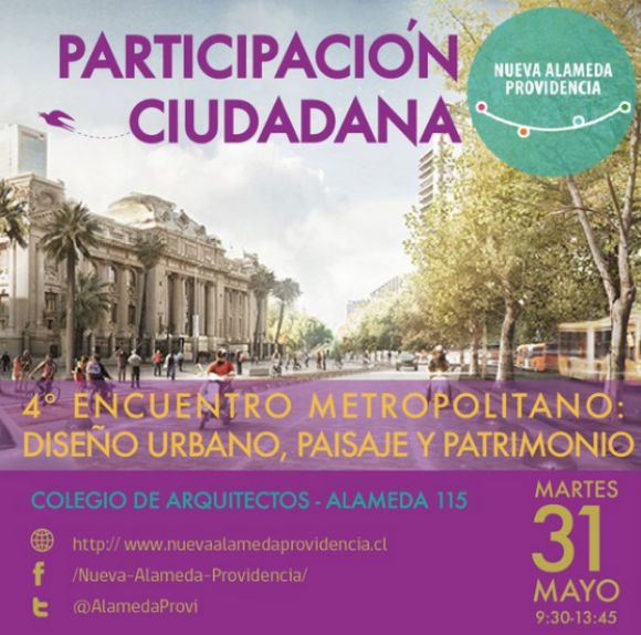 cuarto encuentro alameda providencia mayo 2016