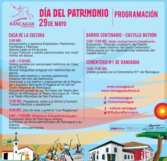 Día del Patrimonio Municipalidad Rancagua