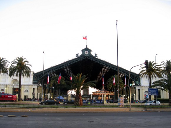 Estación Central. © Flickr Usuario: Osmar Valdebenito. Licencia CC BY-SA 2.0