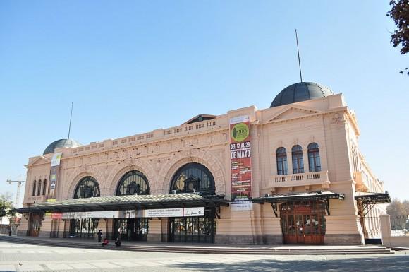 Estación Mapocho. © Wikimedia Commons Usuario: Arturo Rinaldi Villegas. Licencia CC 3.0