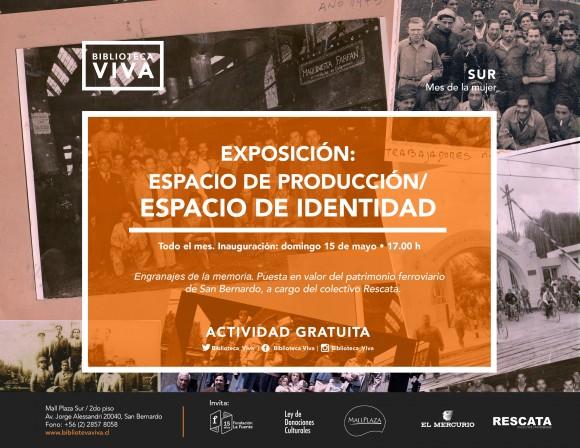 Exposicion Biblioteca Viva_Colectivo Rescata
