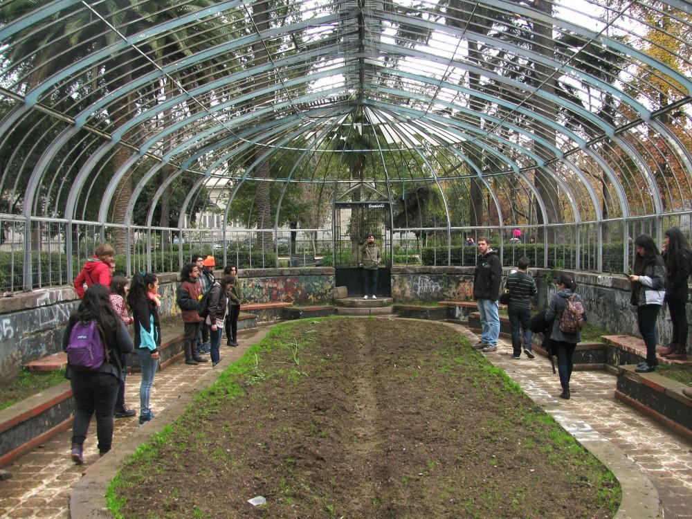 Invernadero de Quinta Normal. © Plataforma Urbana