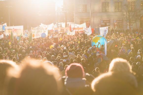 Manifestación en Oslo © 350.org