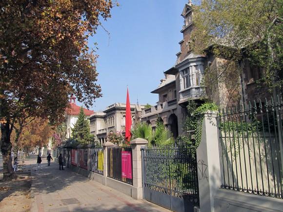 Museo de la Solidaridad Salvador Allende. © Wikimedia Commons Usuario: Warko. Licencia CC 3.0