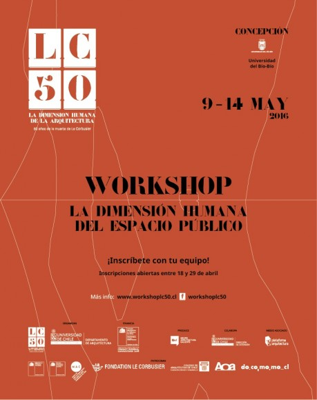 Workshop lc 50 la dimensi n humana del espacio p blico for Inscripciones 2016 jardin publico