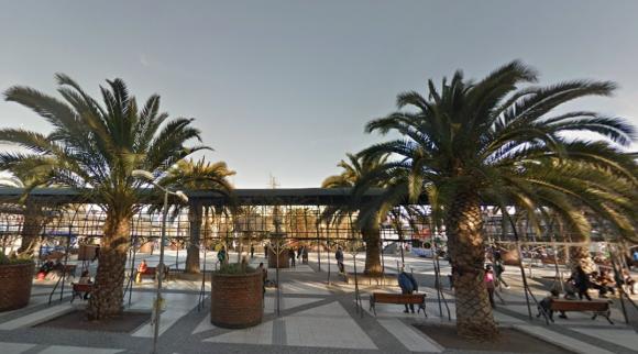 Plaza de Puente Alto. Fuente: Google Maps