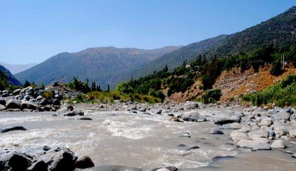 © Río Maipo, Por nicolás figueroa vía Flickr